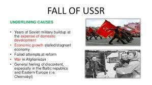 "the reasons for the fall of communism in the ussr Changes in the ussr  baka means in essence the change of socio-political system"" ie the fall of  and denial after communism gergana."
