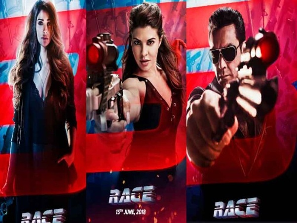 Image result for race 3 poster