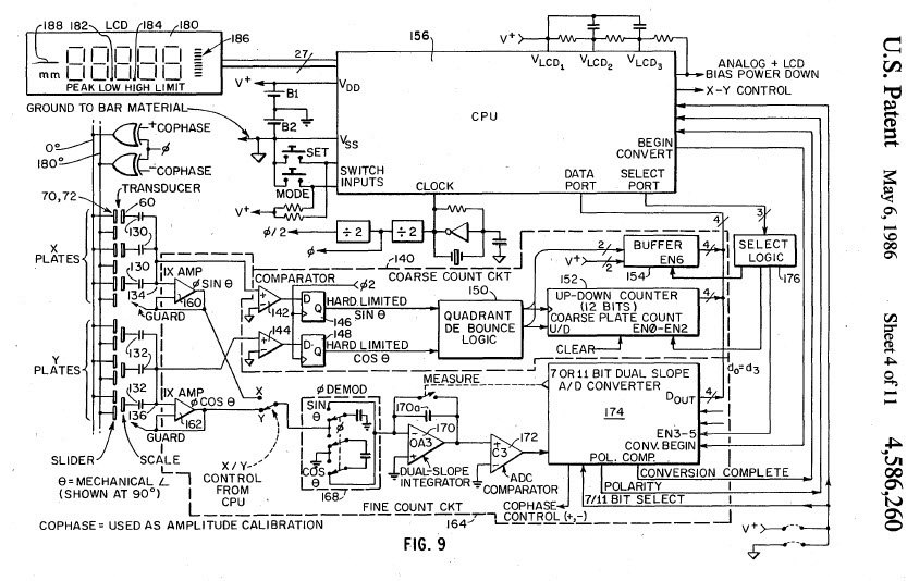 as you can see, this is from 1986, so i'd guess that some of this  functionality has been built into a single chip or a couple of chips so  that you can