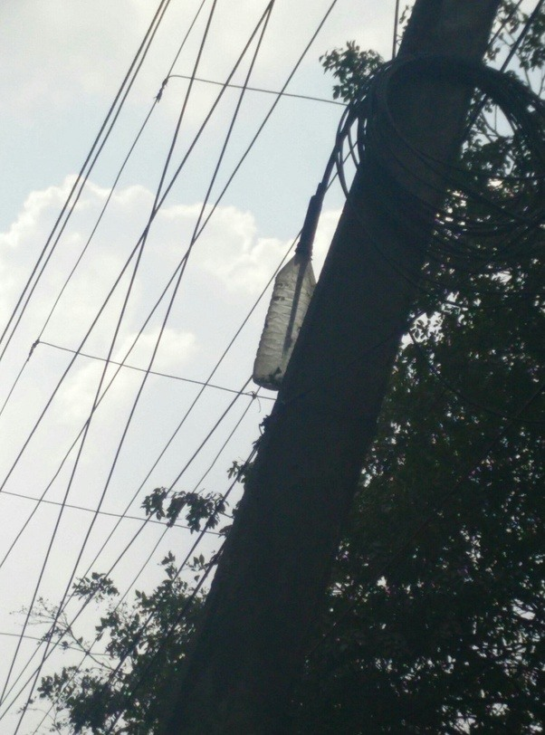 Why do electric wires in India or possibly anywhere have wires ...
