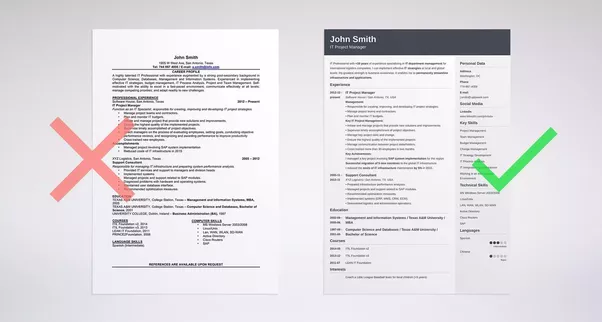 Which one is better: a one page resume or a two page resume? - Quora