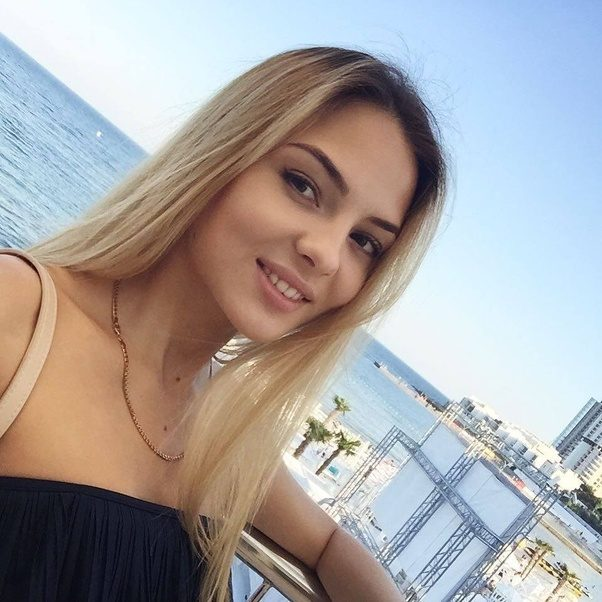 russian Very blonde young teen