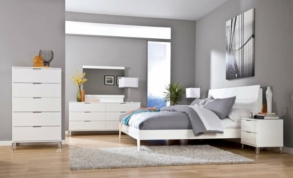 what wall color goes well with white furnitures quora
