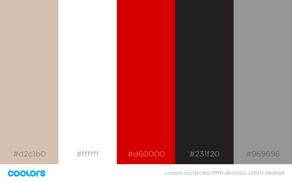What colour goes with red and white? - Quora