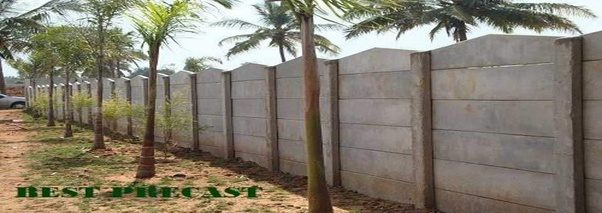 How To Construct A Compound Wall Cheaply To Fence An Area
