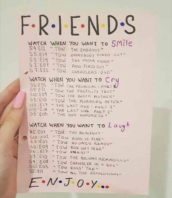 they are the flashback episodes - Best Friends Christmas Episodes