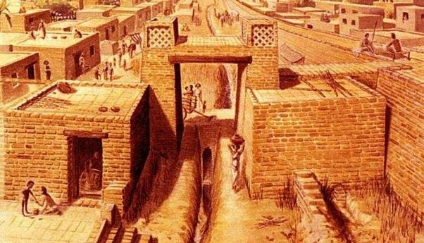 how is harappa different from mesopotamian civilization quora