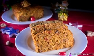 You can Prepare a Christmas cake at your home and guess what, it can be made even without wine/ alcohol and eggs.