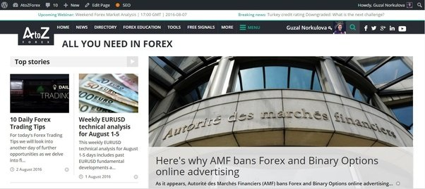 Forex news sites