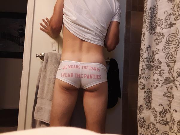Women putting men in panties
