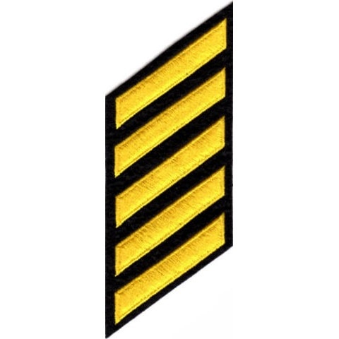 That s a series of service stripes 1  which are affectionately known as  hash marks. One mark equals five years of completed service. 04a341e6b