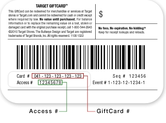 How to check your balance on a target gift card quora here is another variation negle Image collections