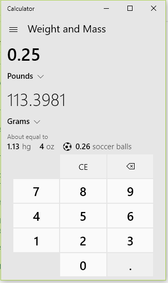 How Many Grams Are In A Quarter Pound