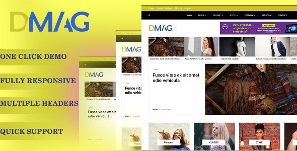 WordPress - New multi-purpose WordPress themes For 2020 Main-qimg-52e90ab1b248d00faa966a94b9c2a221