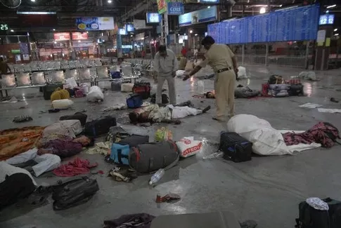 Scenes At The Mumbai CST Railway Station Where 58 People Were Killed