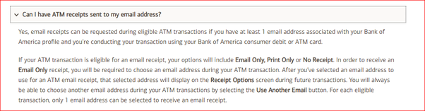 What is my daily ATM withdrawal limit on my Bank of America