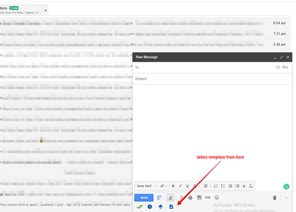 How to use an html template (that I downloaded) in Gmail and/or in