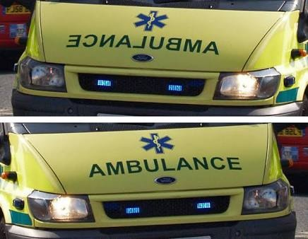 Why Is The Word Ambulance Spelled Backwards On The Front Of Ambulances Quora I know this discussion is on called vs. why is the word ambulance spelled