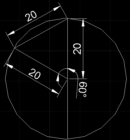 If The Diameter Of A Circle Is 40 Cm And The Chord Is 20 Cm What