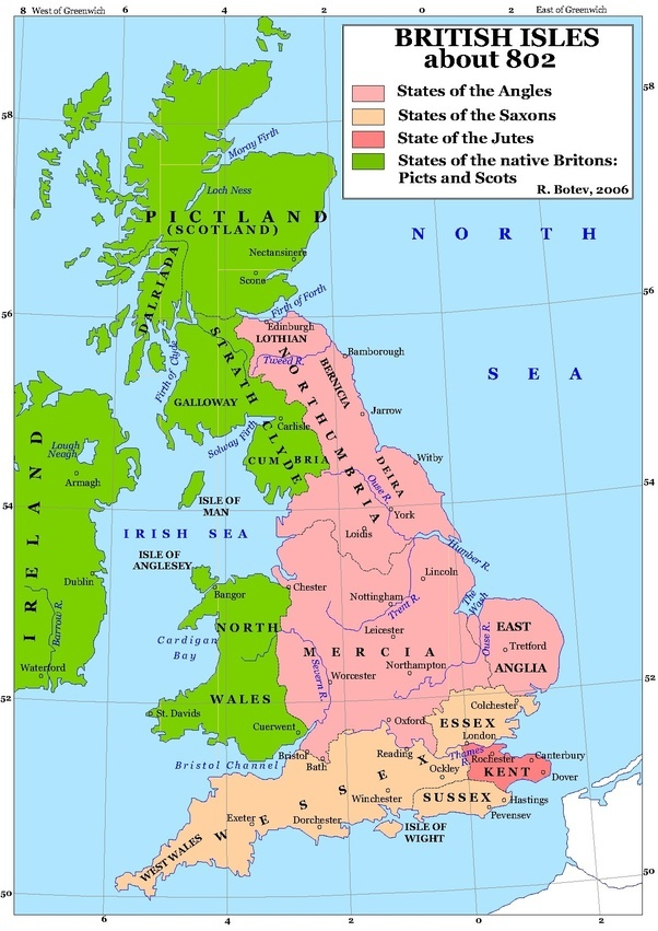 Map Of England 9th Century  Th Century Map Of England on map of england 11th century, map wessex england and vikings, map of britain in the 5th century, map of england 10th century, map of british isles 9th century, map of england 13th century, map of england 19th century, map of scandinavia in the 7th century, map of england 15th century,