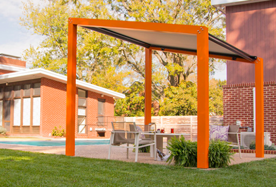 Pergolas and Gazebos can be comprised of various materials such a wood,  vinyl, fiberglass, cPVC, aluminum, and steel. A lattice can be attached to  a pergola ... - What's The Difference Between A Gazebo And A Pergola? - Quora