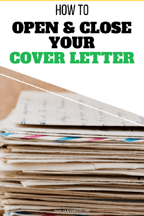 What\'s the best way to end a cover letter? - Quora
