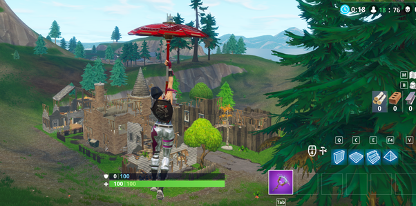 very low key and underrated spot you won t encounter many people landing here at all - best place to land in scrims fortnite