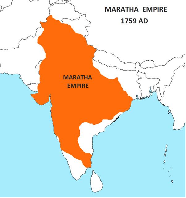 Where was the Maratha Empire located? - Quora