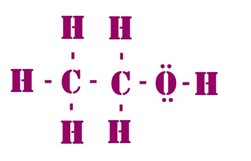 How To Determine The Lewis Structure For C2h5oh Quora