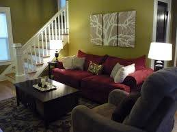 To Give Your Living Area, A Different Look, Paint The Wall Behind Sofa With  Dark Blue Color. All The Wall Of Dark Blue Will Make Your Room Dark, ...