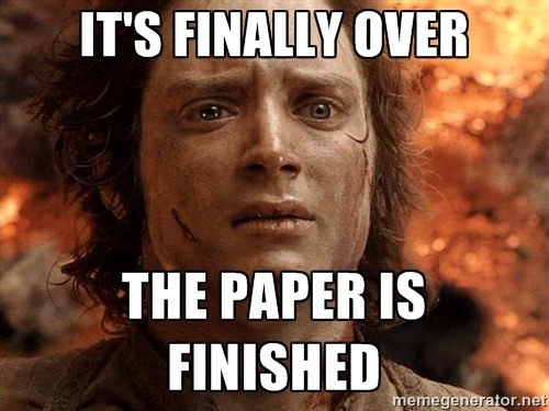 Essays paper done