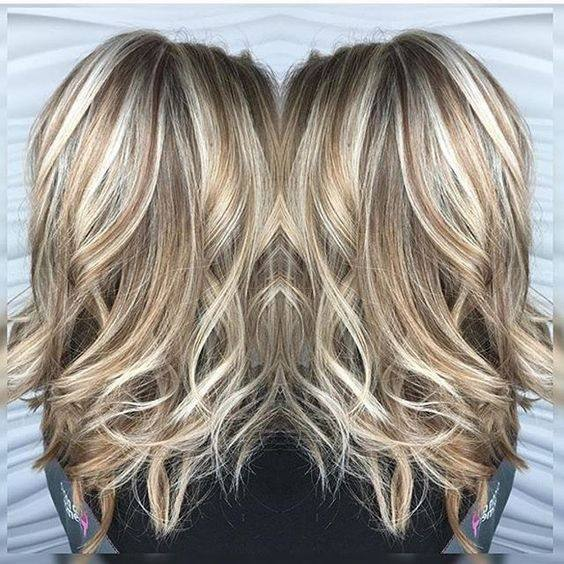 What lowlights should I get in my blonde hair? - Quora
