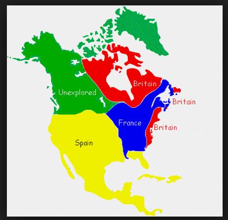 Where Did Countries Colonize In North America Quora - What countries are in north america