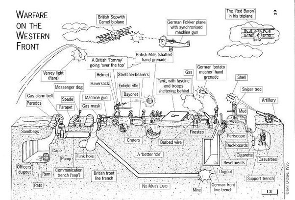 What Does A Trench Diagram Indicate