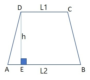 Image result for trapezium abcd