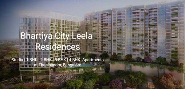 Bhartiya City Leela Living Arrangements Is An Unmatched Private Property Situated In Thanisandra Street Bangalore The Task Offers A Lot Of Advantages That