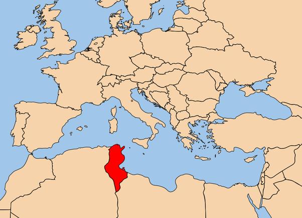 Where Is Tunisia Quora - Where is tunisia