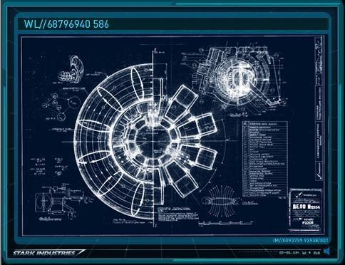 This Line Of Reasoning Is Definitely Backed Up By The Toroidal Field Lines  Drawn In The Stark Industries Arc Reactor Blueprints: