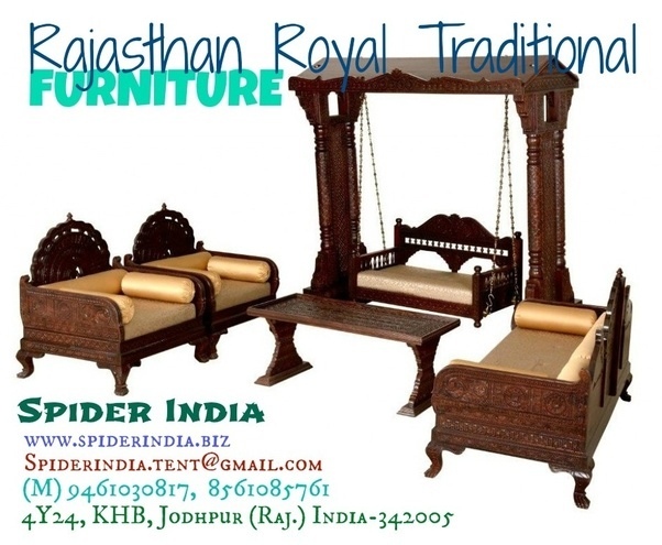 Where Can I Find Traditional Rajasthani Carved Furniture