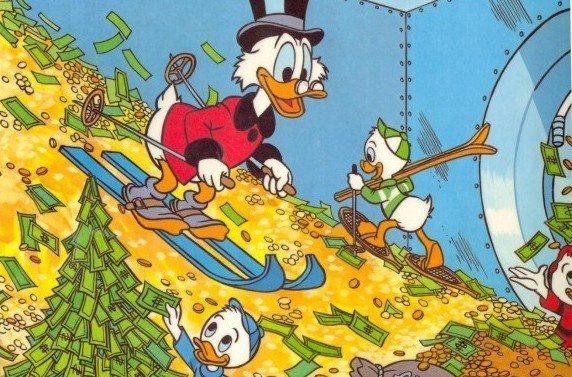 who has more money bruce wayne or scrooge mcduck quora
