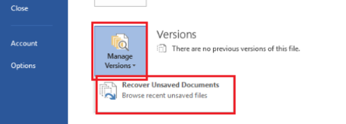 How to recover an unsaved word doc - Quora