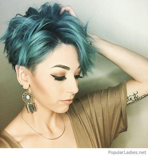 What is the best colour for short hair? - Quora
