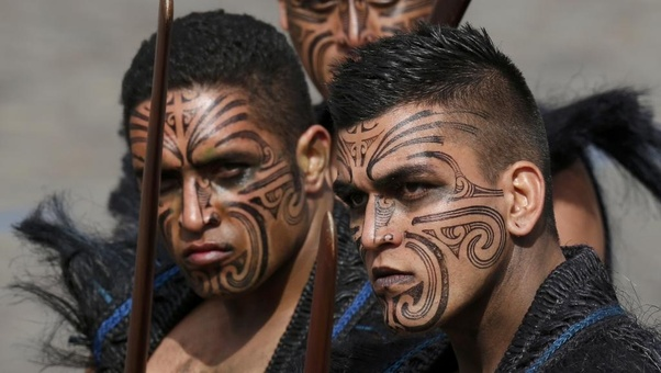 New Zealand Maori Face Tattoos: What Is The Meaning Behind The Tattoos On Mazer Rackham's