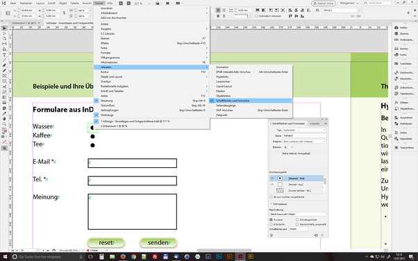 thats quite simple in indesign - Simple Past Beispiele