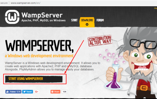 download wamp server for windows 7 32 bit