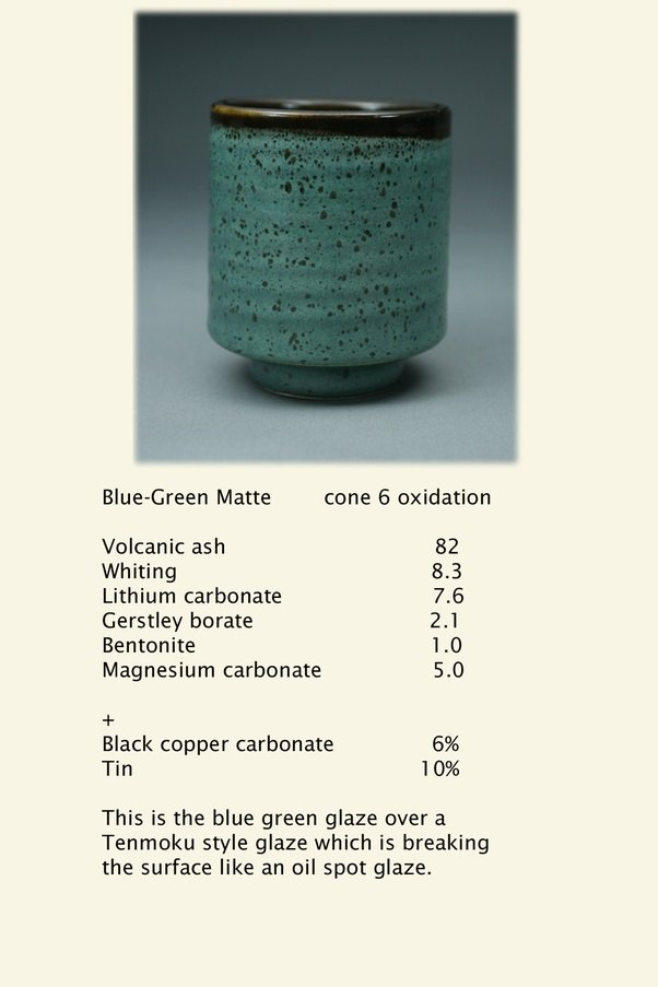 recipe: pottery glaze recipes [11]