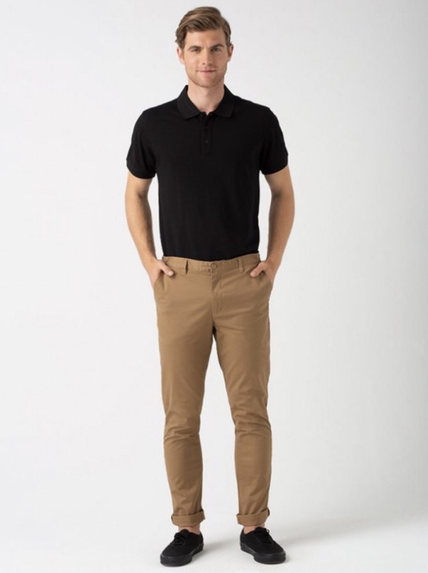 Is It Okay To Wear A Black Shirt With Khaki Pants Quora