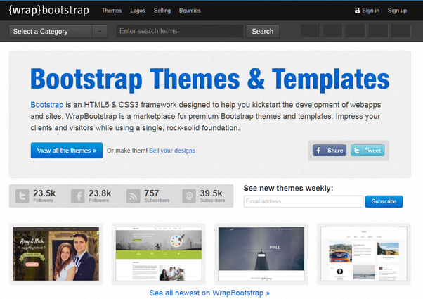 Where can I find the professional responsive website templates? - Quora