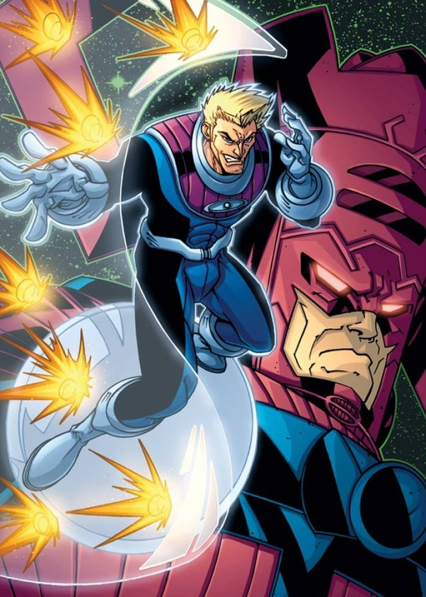 Which superheroes have sometimes been Upgraded to Cosmic