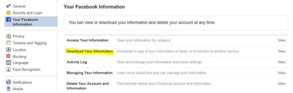 Is there a way to retrieve a deleted Facebook post? - Quora